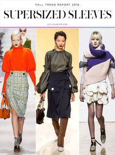 Top 12 Trends from Fall 2016 Runway | VOLUMINOUS SLEEVES: Christian Dior; Marni; J.W. Anderson @stylecaster