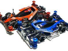 Mini 4WD Astro Boomerang Rosso & Azzurro