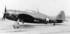 Republic P-47B-RA Thunderbolt (S/N 41-5905). (U.S. Air Force photo)