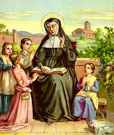 Saint Angela Merici pray for us and those who are physically handicapped and against illness.  Feast day January 27.