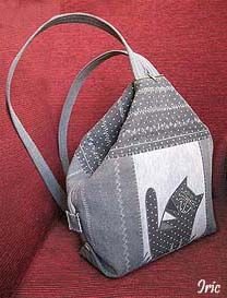 Detailed instructions for convertible bag/backpack. http://www.liveinternet.ru/users/4334733/post282604514/