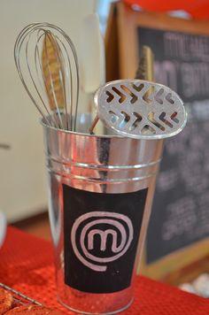 Micaela's Junior MasterChef Themed Party – Dessert spread details