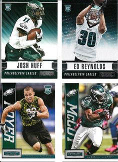 4 card Philadelphia Eagles lot! McCoy, RC parallel and more!