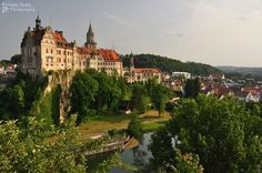 22.) Sigmaringen Castle, Germany. After World War II members of the French Vichy government (which was backed by Germany) fled here. They hope to protect themselves from reprisals for collaborating with Hitler.