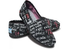 Tom's with every pair purchased Tom's will give a pair of new shoes to a child in need...plus they are so Comfy!!!