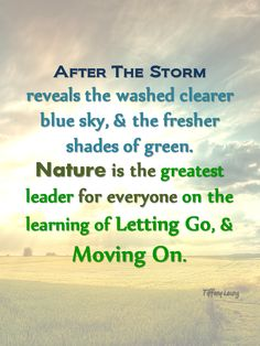 After a Storm comes a Calm - http://corimuscounseling.tumblr.com/post/95710053823/after-the-storm-we-crawl-at-the-heart-of-the #inspirational #quote #life #storm #trauma #lettinggo #movingon #empowerment #healing #spiritual #learning