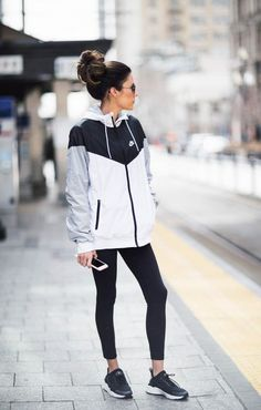 Looks con ropa sport leggings ropa deportiva chamarra adidas