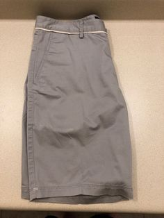 5c3ac54a4 New Hugo Boss Shorts Size 30 Stone Grey Gray C-Clyde Stretch Reg Fit #