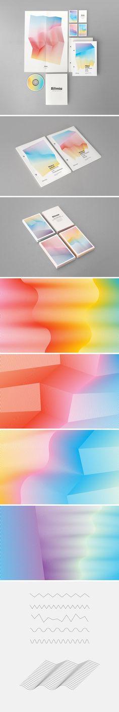 Ritmia - Atipus #pattern #gradient #blend