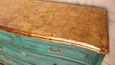 Dining Room/Office - TURQUOISE CHEST OF DRAWERS | Bohemian and Chic