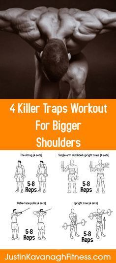 Survival Muscle 4 Killer Traps Workout For Bigger Shoulders The Hidden Survival Muscle In Your Body Missed By Modern Physicians That Keep Millions Of Men And Women Defeated By Pain, Frustrated With Belly Fat, And Struggling To Feel Energized Every Day Fitness Workouts, At Home Workouts, Fitness Tips, Workout Tips, Cardio Gym, Workout Fitness, Zumba Fitness, Traps Workout, Workout Bauch