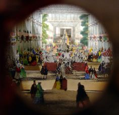 A professional diorama of the Great Exhibition of 1851 at the Crystal Palace. (Rather better than my efforts. Victoria Queen Of England, Queen Victoria, Exhibition Building, Exhibition Space, Circle Game, Toy Theatre, Prince Albert, Crystal Palace, Theatres