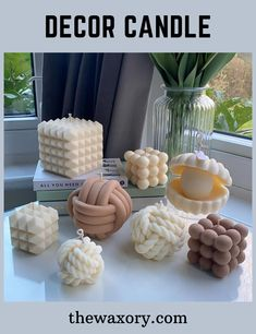 Diy Candles Scented, Aromatherapy Candles, Cheap Candles, Soy Candles, Candle Making At Home, Bubble, Beautiful Mirrors, Luxury Candles, Candle Molds