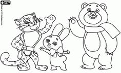 olympic games mascots coloring pages - photo#18