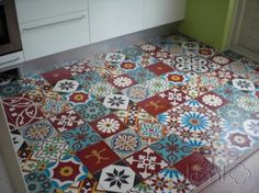 Cement tiles Patchwork! Project van Designtegels.nl
