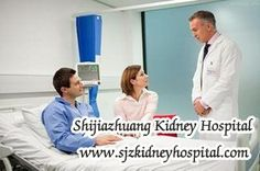 In clinic, if the creatinine level shows higher than the normal, it means the 60% of nephrons have been damaged and kidney function has decreased. For patients with 35% kidney function, they have got Chronic Kidney Disease.