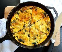 Kale and Chorizo Frittata - a savory, budget-friendly meal that you (and your wallet) will love! Breakfast Frittata, Breakfast Bites, Breakfast Casserole, Casserole Dishes, Casserole Recipes, Breakfast Recipes, Chorizo Frittata, Chorizo Sausage, Morning Food