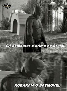Batman foi combater o crime no Brasil