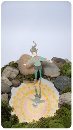 paper illustration and dioramas Miki Sato 29
