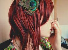 wine red hair | Red Henna Hair Dye
