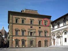 Palazzo Grifoni e la finestra sempre aperta