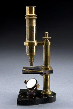 microscópio de oculo único