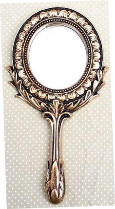 Arte Nautika : Espelho de Mão Lady / 25,5 x 12,5 cm - 45,00