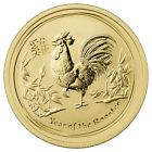 ☺◔ 2017-P Australia $50 1/2 oz. Gold Lunar Year of the Rooster In Mint Cap SKU43304 http://ebay.to/2cP2mMM