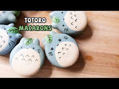 มาการองโตโตโร่ How to make Totoro Macarons - YouTube