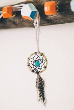 Dream catcher necklace for sale!