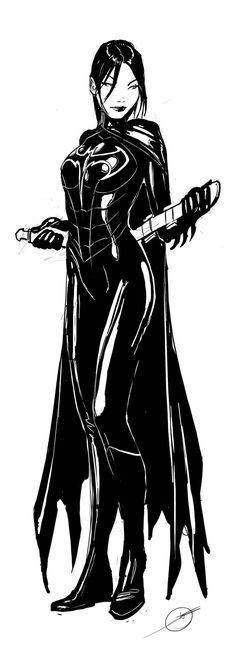 Cassandra Cain, Batgirl by *nebezial on deviantART Auction your comics on http://www.comicbazaar.co.uk