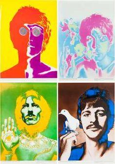 Una colección de cuatro pósters psicodélicos de Richard Avedon comisionados por la revista alemana '... - excelsior.com.mx