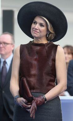 Queen Maxima of Netherlands. Love her style. Photo: Getty Images