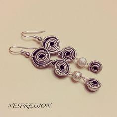 #earring #art #creativity #homemade #recycle #jewel #bijoux #lowcost #orecchini…
