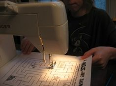 On my 'Life Agenda': Learn how to sew!!