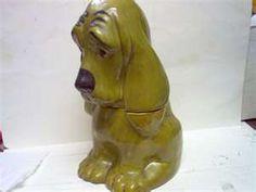 Vintage Hound Dog Cookie Jar