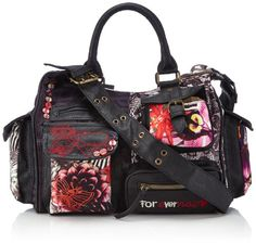 Desigual BOLS_JUNGLE NIGHT LONDON, 2000, U, Borsa a tracolla donna