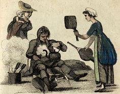 Cries of London, illustrated 1803 from Spitalsfield blog Any Work for the Tinker