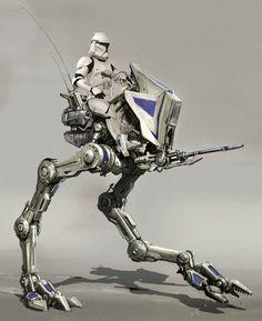 - AT-RT: swift-footed walker Star Wars Rpg, Star Wars Ships, Star Wars Clone Wars, Star Trek, At Rt, Star Wars Vehicles, Galactic Republic, Star Wars Models, Star Wars Concept Art
