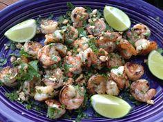 Grilled cilantro lime shrimp hcg diet recipe