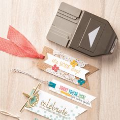 Banner Triple Punch by Stampin' Up!