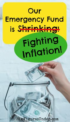 Is your emergency fund savings account keeping up with inflation? Ways To Save Money, Money Saving Tips, Saving Ideas, Budgeting Finances, Budgeting Tips, Finance Blog, Health Insurance Companies, Health Promotion, Money Management