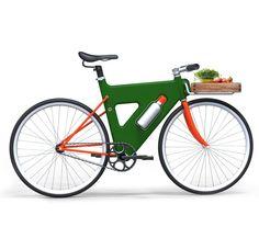 Jaemin Jaeminlee : Placha - bicycle built on plastic frame