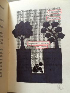 Blackout Poetry, Art Therapy, Word Art, Artsy Fartsy, Paper Art, Madness, Muse, Mixed Media, Creativity