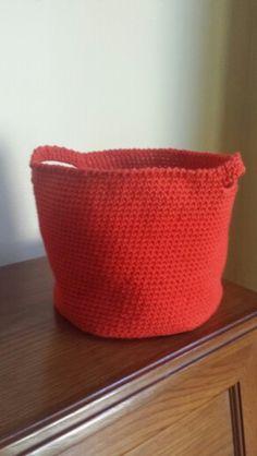 Garden basket Garden Basket, Crochet Hats, Knitting Hats, Garden Cart