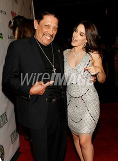The talented and humble Danny Trejo and I