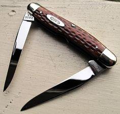 Rare Case XX 1940 bone handle muskrat