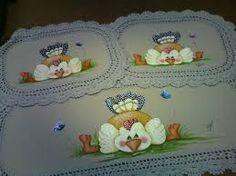 Resultado de imagem para riscos pintura em tecido jogo de cozinha emborrachado girassol