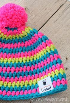 myboshi - New Ideas Crochet Box, Crochet World, Crochet Baby Hats, Crochet For Kids, Free Crochet, Knitted Hats, Knit Crochet, Crochet Poncho Patterns, Sweater Knitting Patterns