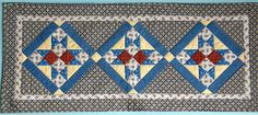 Hey, I found this really awesome Etsy listing at https://www.etsy.com/listing/204416469/quilted-table-runner-civil-war-quilt